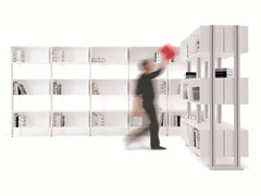 - Open sectional bookcase BACKUP CUBE - Diemmebi