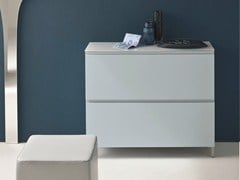 - Lacquered shoe cabinet LOGIKA | Lacquered shoe cabinet - Birex