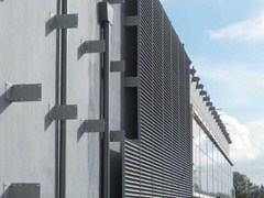 - Modular screening steel Fence GIGANT SCREEN - GRIDIRON GRIGLIATI