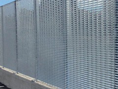 - Modular screening steel Fence SUN SCREEN - GRIDIRON GRIGLIATI