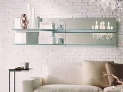 - Crystal mirror / wall shelf EIDOS | Wall-mounted mirror - Bontempi Casa