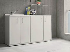 - Outdoor laundry room cabinet with sink BRACCIO DI FERRO | Laundry room cabinet with sink - Birex