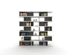 Libreria a giorno modulare