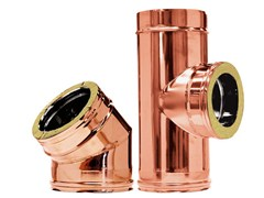 - Copper flue Twin wall - Copper - CORDIVARI