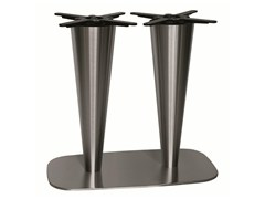 - Stainless steel table base RONDOGEL-84-2 - Vela Arredamenti