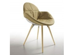 - Polycarbonate chair COOKIE | Chair with removable cover - Infiniti