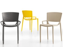 - Stackable plastic chair FIORELLINA | Stackable chair - Infiniti