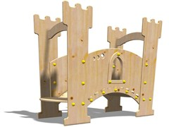 - Wooden Play structure EXCALIBUR - Legnolandia