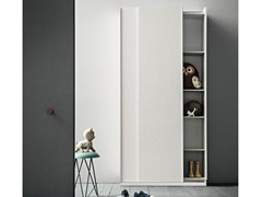 - Wooden wardrobe with sliding doors SLIM | Wooden wardrobe - Birex