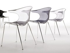 - Stackable plastic chair LOOP | Stackable chair - Infiniti