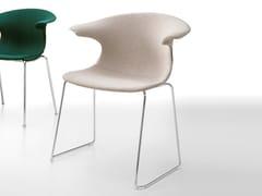 - Sled base fabric chair LOOP | Sled base chair - Infiniti