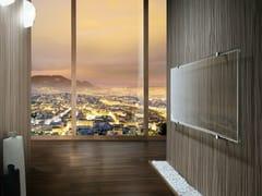 Radiatore elettrico orizzontale in vetro a pareteTHERMOGLANCE ® | Radiatore orizzontale - ASOLA VETRO