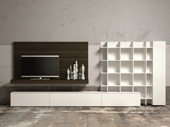 - Sectional TV wall system SLIM 60 - Dall'Agnese