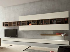 - Sectional TV wall system SLIM 16 - Dall'Agnese