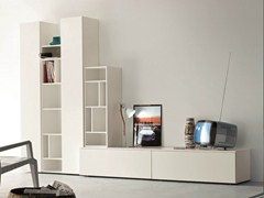 - Sectional TV wall system SLIM 8 - Dall'Agnese