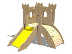 - Wooden Play structure TORRE LANCILLOTTO - Legnolandia