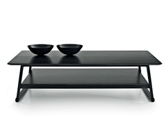 - Rectangular oak coffee table RECIPIO '14 | Rectangular coffee table - Maxalto, a brand of B&B Italia Spa