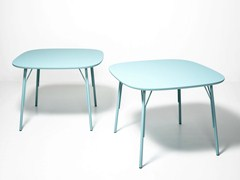 - Lacquered square wooden table KELLY T | Square table - Tacchini Italia Forniture
