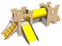 - Wooden Play structure CASTELLO NOTTINGHAM - Legnolandia