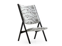 - Upholstered folding chair D.270.2 | Upholstered chair - MOLTENI & C.