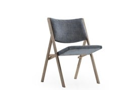 - Upholstered fabric chair D.270.1 | Upholstered chair - MOLTENI & C.