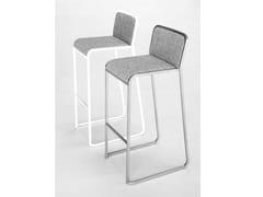 - Fabric counter stool ARIA | Counter stool - Lapalma
