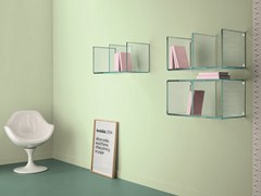 - Glass wall shelf DIGIT | Wall shelf - T.D. Tonelli Design