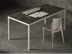 - Rectangular metal table MAX | Rectangular table - Dall'Agnese