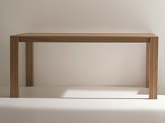 - Rectangular walnut table RUBINO | Walnut table - Dall'Agnese