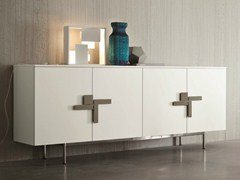 - Lacquered sideboard with doors SLIM | Sideboard with doors - Dall'Agnese