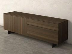 - Eucalyptus sideboard with doors with drawers FASHION | Eucalyptus sideboard - Dall'Agnese