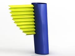 - Aluminium vase LA ROTONDE - altreforme