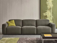 - Modular 3 seater fabric sofa MOON | 3 seater sofa - Dall'Agnese