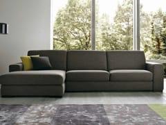 - 3 seater fabric sofa EMOTION | 3 seater sofa - Dall'Agnese