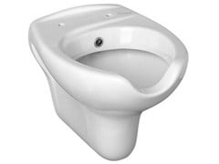 Wc per disabili sospeso in porcellana con bidetOLDER | Wc bidet - PONTE GIULIO