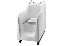 800 | Vasca da bagno con WC integrato