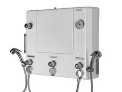 Quadro di comando con doccette per disinfezione/lavaggio1000 - PONTE GIULIO