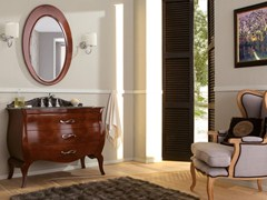 - Lacquered vanity unit with drawers VINTAGE 04 - LEGNOBAGNO