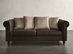 - Deco 2 seater leather sofa DECÒ | 2 seater sofa - Dall'Agnese