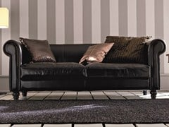 - Deco 3 seater leather sofa DECÒ | 3 seater sofa - Dall'Agnese