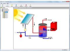 Calcolo impianto solare termico, fotovoltaicoEC712 SOLARE TERMICO - EDILCLIMA