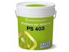 Pittura per esterni traspirantePS 403 - FASSA