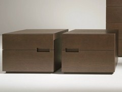 - Oak bedside table with drawers ASOLA | Oak bedside table - Dall'Agnese