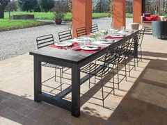 - Rectangular solid wood table FRAME | Rectangular table - Minacciolo
