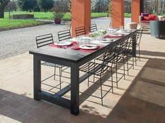 Tavolo da giardino in legno massello