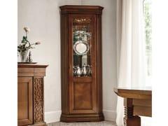 - Walnut corner display cabinet TIFFANY | Corner display cabinet - Dall'Agnese