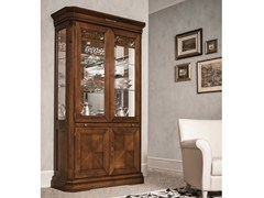 - Walnut display cabinet TIFFANY | Walnut display cabinet - Dall'Agnese
