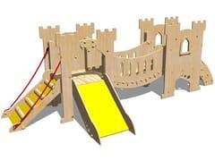 - Wooden Play structure CASTELLO SALADINO - Legnolandia