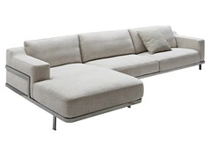 - Corner sectional fabric sofa ODILON | Sectional sofa - Nube Italia
