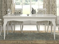 - Lacquered rectangular table SYMFONIA | Lacquered table - Dall'Agnese